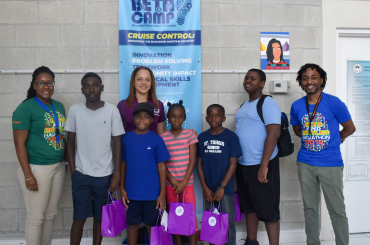 Cloud Carib sponsors 5 Family Island students to attend BETA Camp