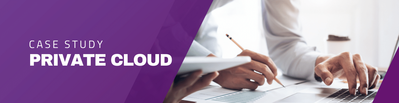 Private cloud quasi-government agency case study